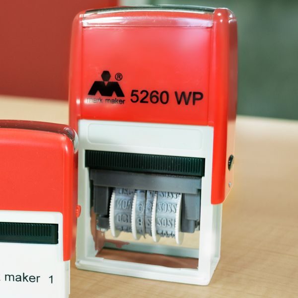Plastic Self-Inking Dater